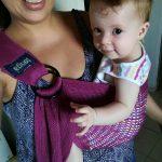 consulenza per portare i bambini con la fascia
