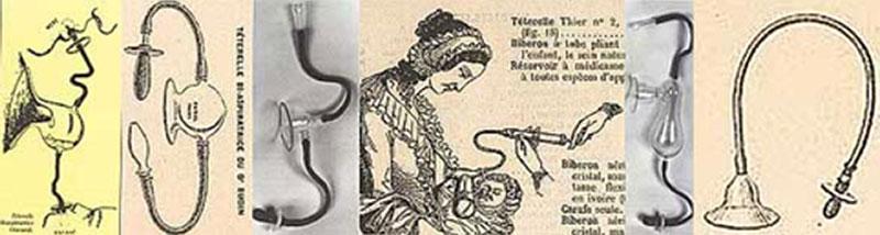 Paracapezzoli del XIX secolo