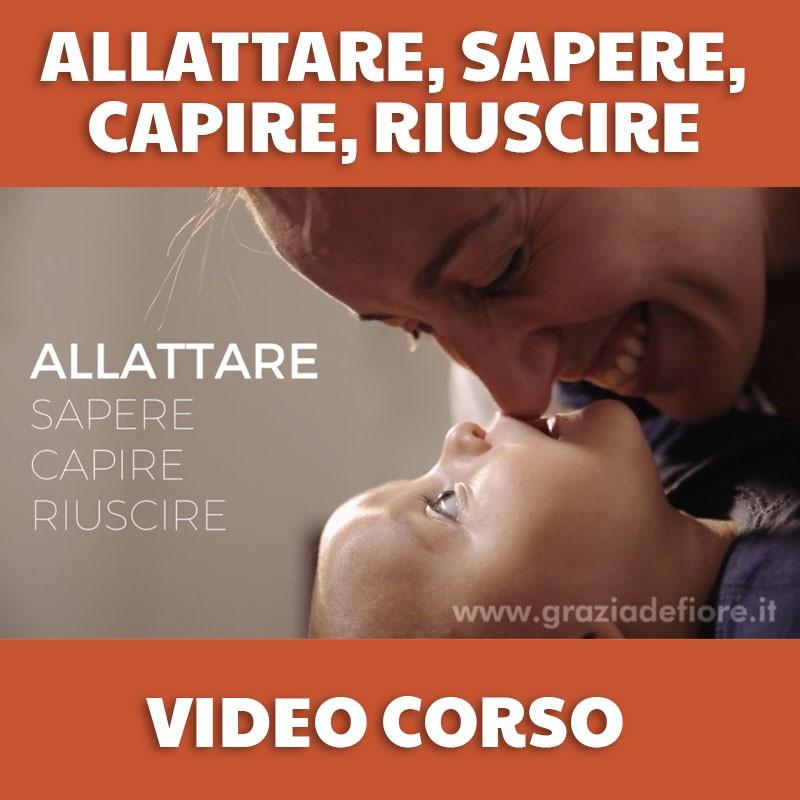 Video corso allattamento online