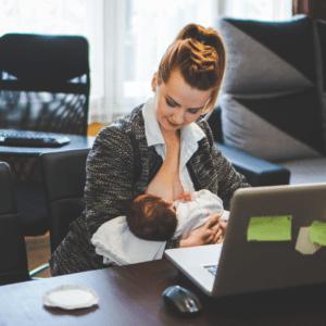 allattamento e rientro a lavoro